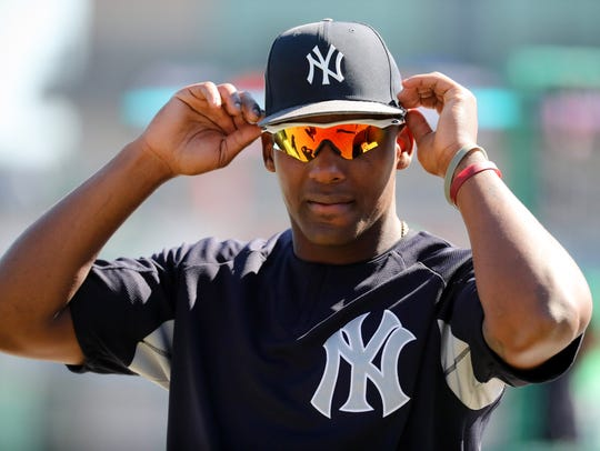 Miguel Andujar, designated hitter for the New York