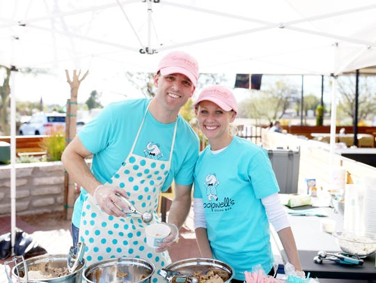 Scoopwell's Dough Bar held a pop-up edible dough event in Tempe in March.