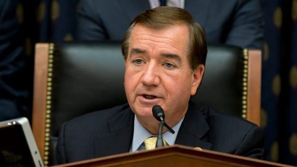 House Foreign Affairs Committee Chairman Ed Royce,