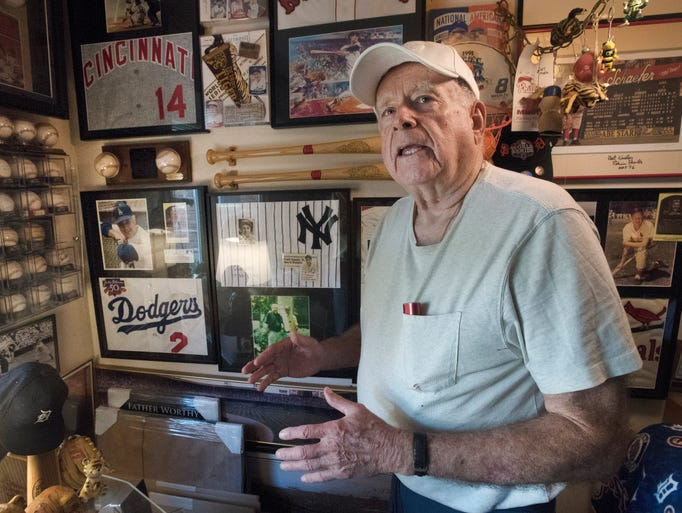 Father Donald Worthy's passion for baseball spans a