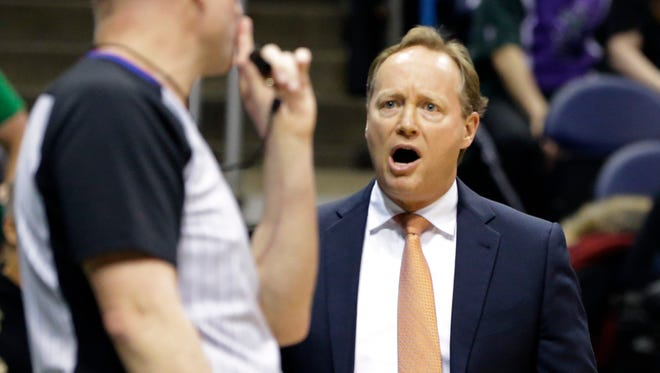 Former Atlanta Hawks coach Mike Budenholzer has been interviewed by the Milwaukee Bucks for their head coaching job.
