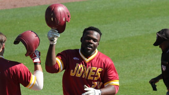 JCJC utility player Erick Hoard (24) has verbally committed
