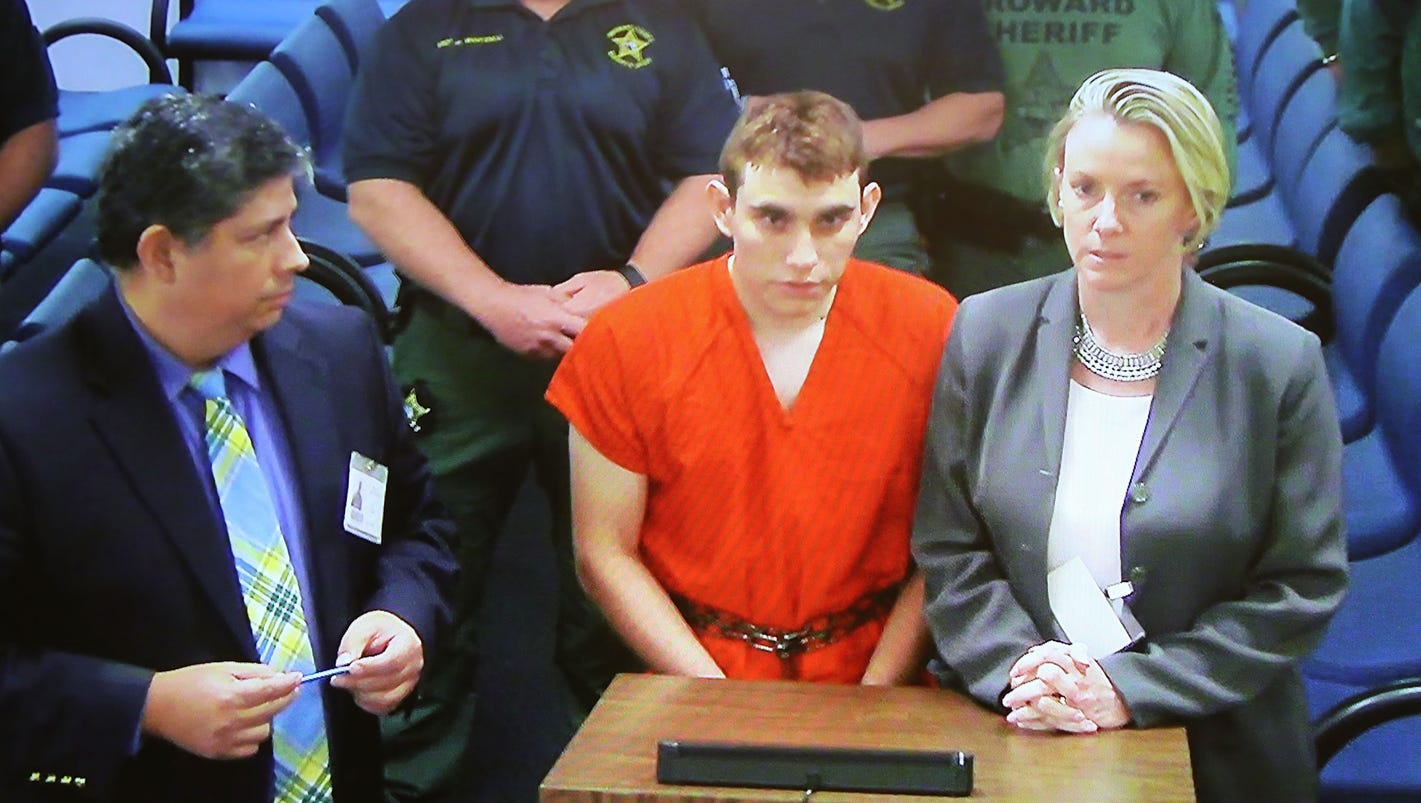 Florida high school shooting suspect will plead guilty if death penalty is not an option