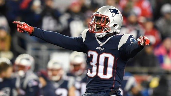 New England Patriots free safety Duron Harmon (30)