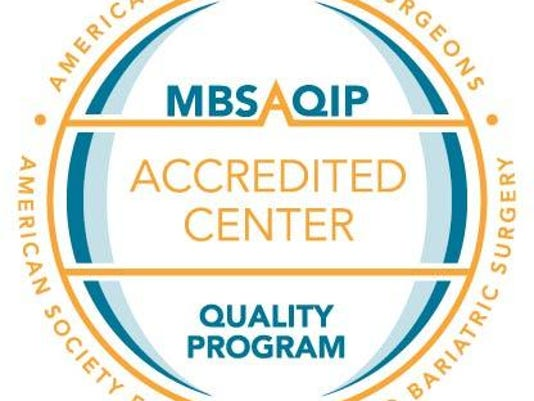 Bariatrics certification MBSAQIP - Seal 1