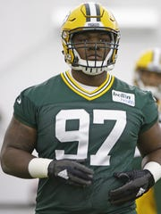 Green Bay Packers' first-round draft pick Kenny Clark