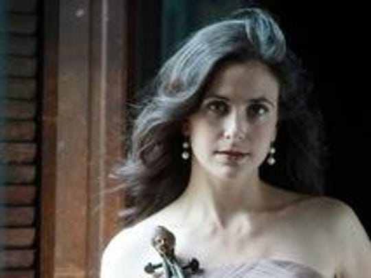 Catacoustic Consort founder Annalisa Pappano with her