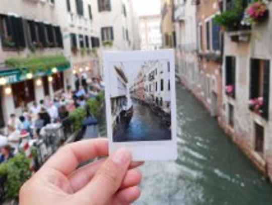 A gondola ride on the Grand Canal is a highlight of