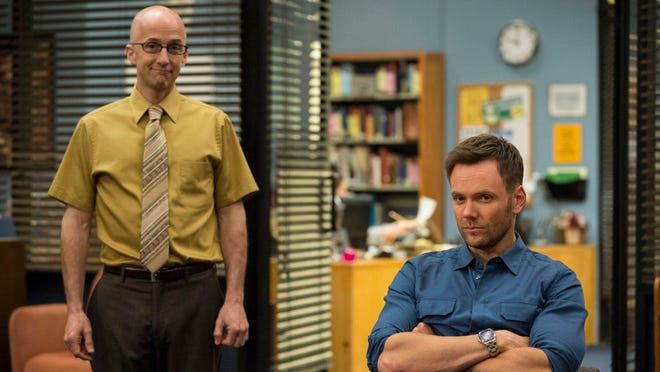 Jim Rash, left, and Joel McHale star in 'Community.'