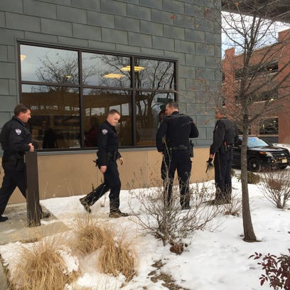 Fort Collins police search a building at 1107 S. Lemay