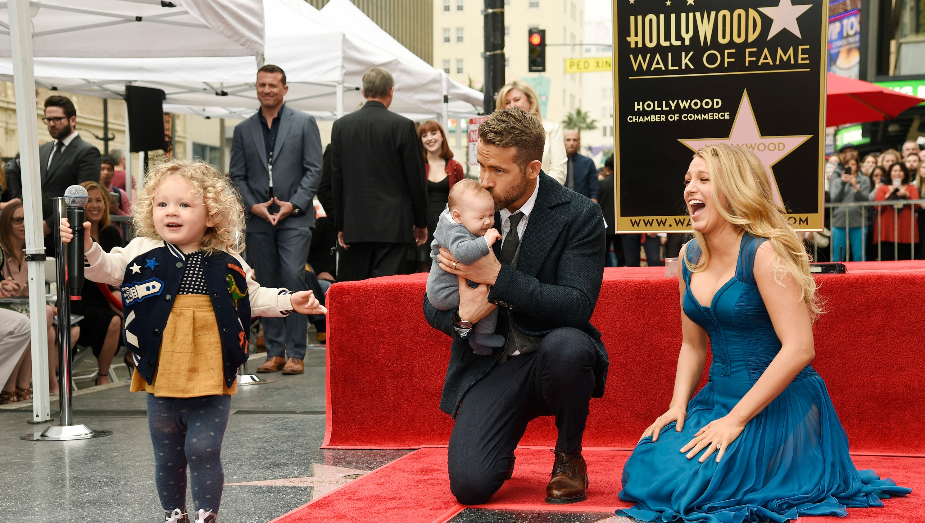 ryan reynolds and blake lively s daughters just made their red carpet
