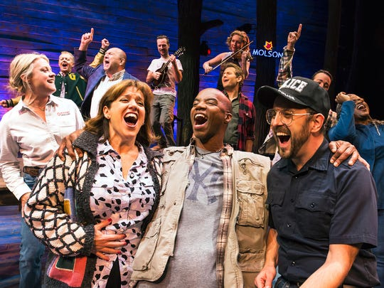 """Come From Away"" will make its Wisconsin premiere April 2-7, 2019 at the Fox Cities Performing Arts Center in Appleton."
