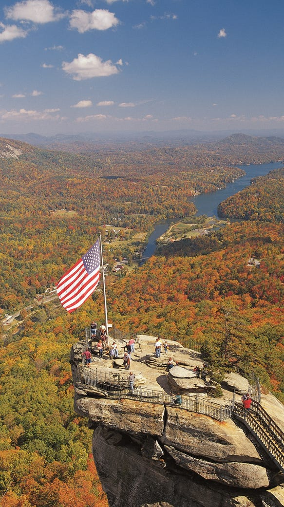 The Chimney Rock Attraction at Chimney Rock State Park