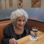 The original Olga stops in to visit her newly remodeled namesake restaurant in Westland