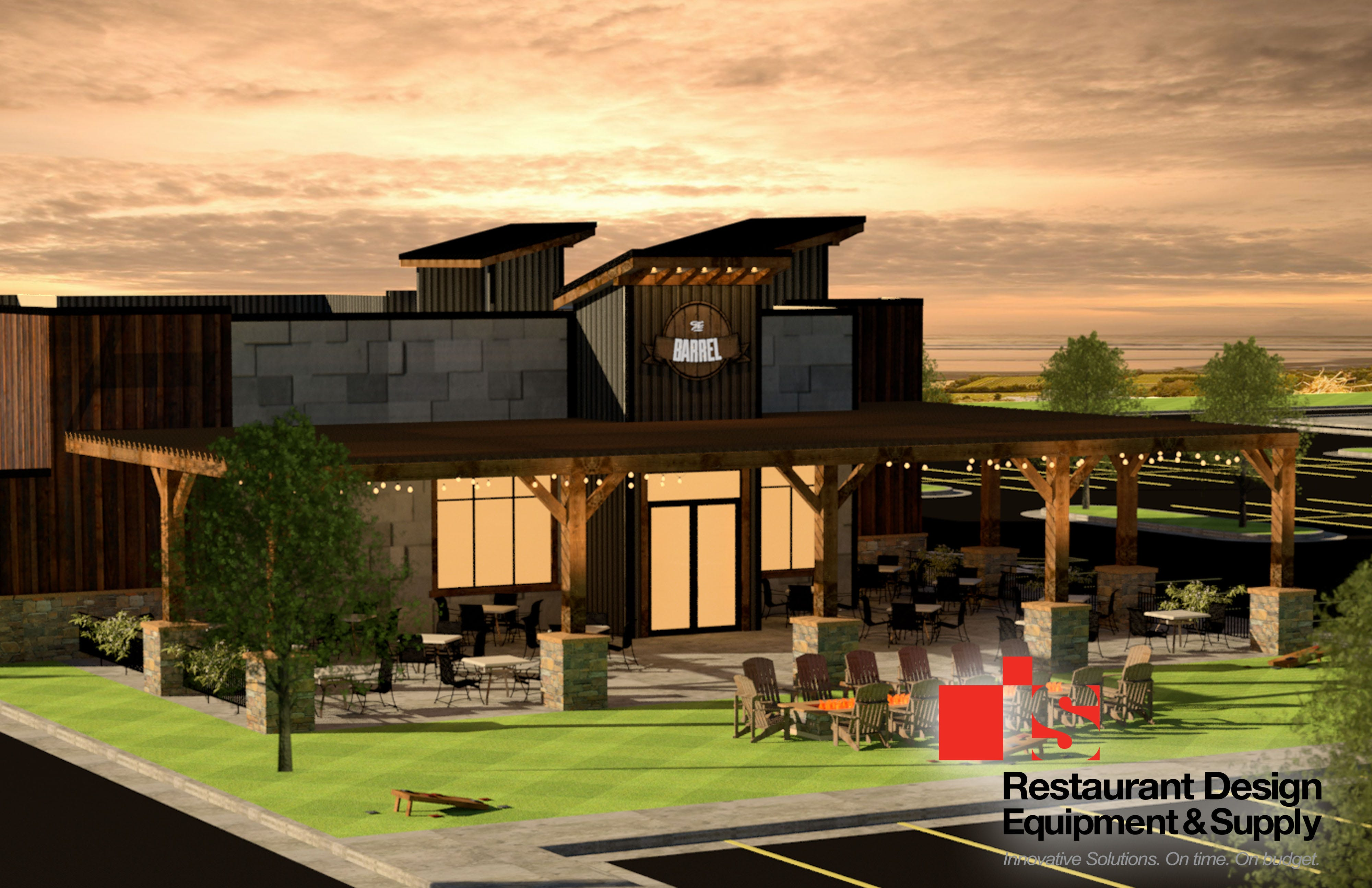 Rendering For The Barrel House