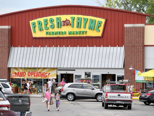 A Fresh Thyme Farmers Market opened in Greenwood in