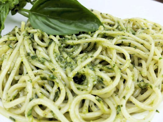 Pesto Genovese is a dish that comes together quickly with few ingredients and a sauce that doesn't require cooking.