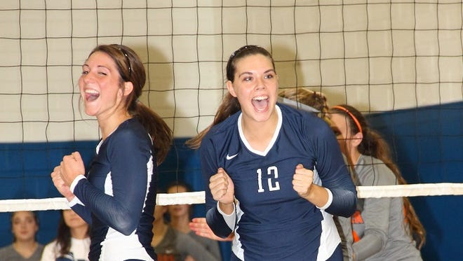 Lauren Owen, right, was an All-Appalachian Athletic Conference player for Montreat as a senior in 2013.