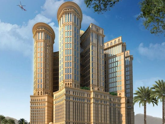 As for the architecture, the Abraj Kudai looks like