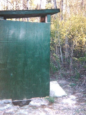 Is a less than frigid outhouse a positive enough item to offset the other headaches caused by the warm weather?
