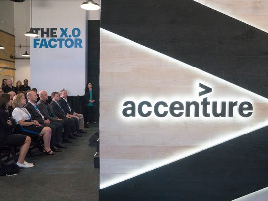 Accenture is open in Livonia. They offer high-tech solutions to client problems.