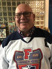 Dan Longeway was Livonia Franklin's first hockey captain.