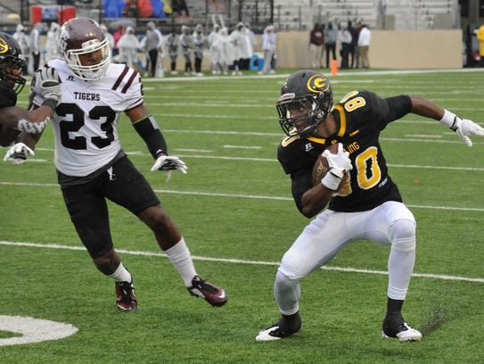 Grambling's Chester Rogers totaled eight touchdowns