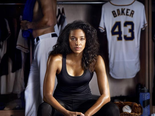 Kylie Bunbury plays the first woman to pitch in major