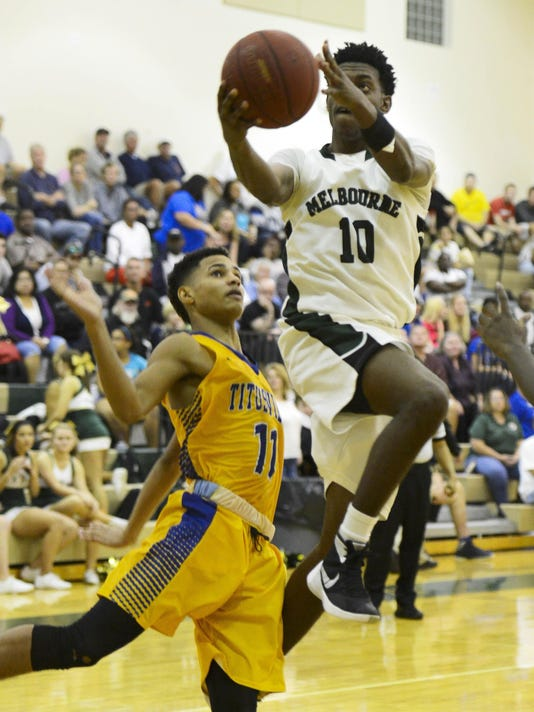 High School Basketball: Titusville at Melbourne