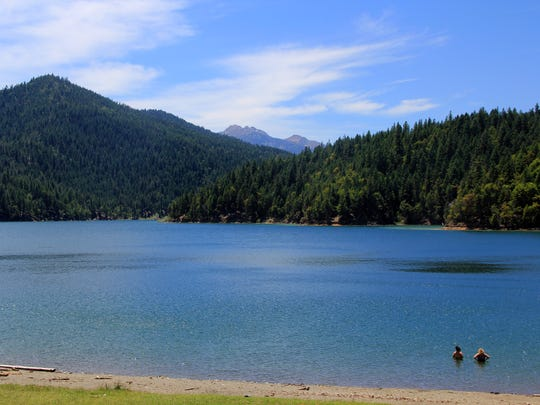 Applegate Lake is a reservoir on the Applegate River.