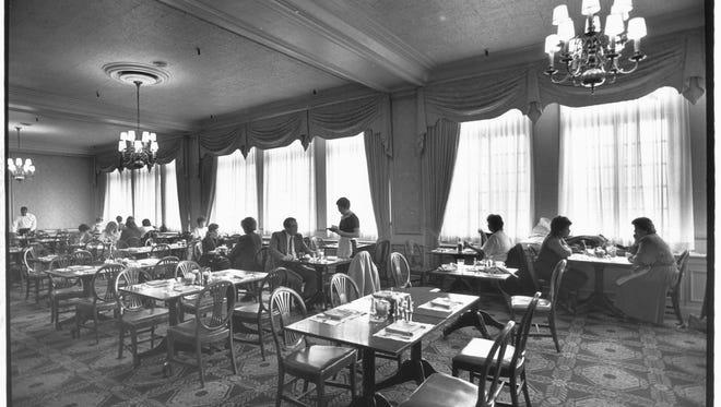 Ayres Tea Room, in February 1988.