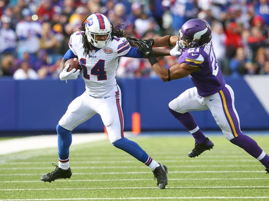 Sammy Watkins has a big test on his hands going against New England cornerback Malcolm Butler.
