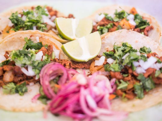 Taqueria Picante's Mexico Taco with marinated pork