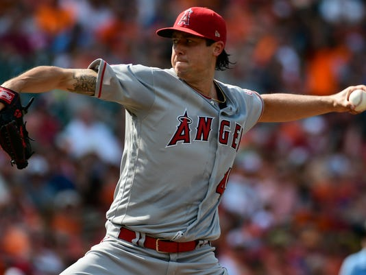 MLB: Los Angeles Angels at Baltimore Orioles