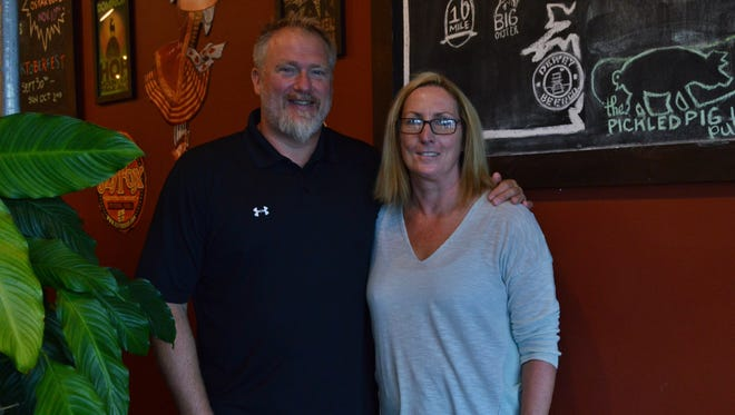 Doug and Lisa Frampton, owners of Pig + Fish Restaurant and The Pickled Pig Pub, will soon open a new eatery in Lewes.