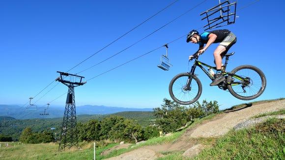 Beech Mountain Resort is seeking volunteers for the Collegiate Mountain Bike Nationals this weekend.