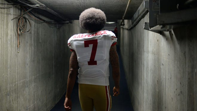San Francisco 49ers quarterback Colin Kaepernick has started a national conversation with his protests.