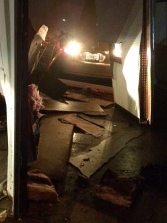 Christmas Morning Burglary Suspects Flee Crash Car