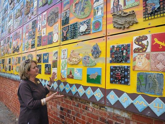 Community Art Mural 1