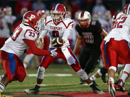 Hilton against Fairport, Saturday night at Hilton.