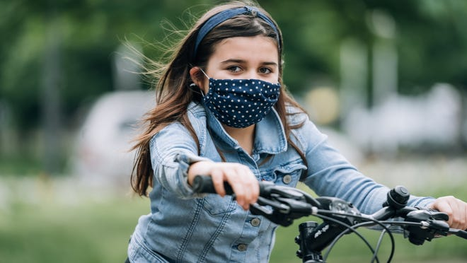 Masks help prevent the spread the coronavirus as well as protect against allergens.