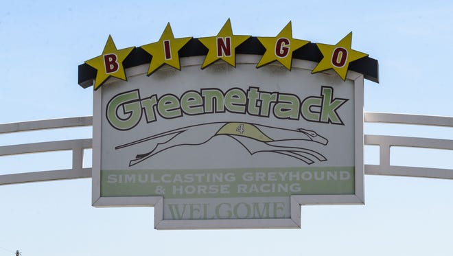 The entrance to GreeneTrack in Eutaw.