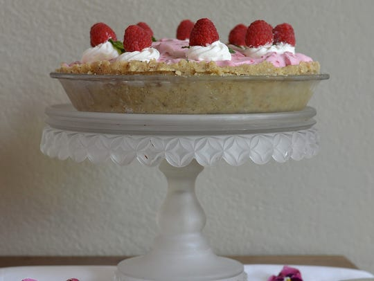Mile-High Raspberry Pie is a showstopper dessert.
