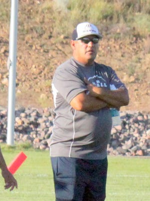 Raul Diaz, who was the interim football coach at Silver High, was officially named head football coach after going 4-7 and making the state playoffs this year.