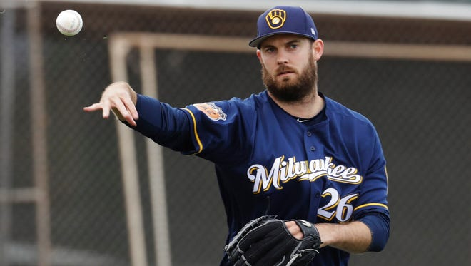 Brewers pitcher Taylor Jungmann is eyeing a spot in the bullpen this season.