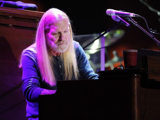 Gregg Allman performs at Eric Clapton's Crossroads Guitar Festival on April 12, 2013, at Madison Square Garden in New York.