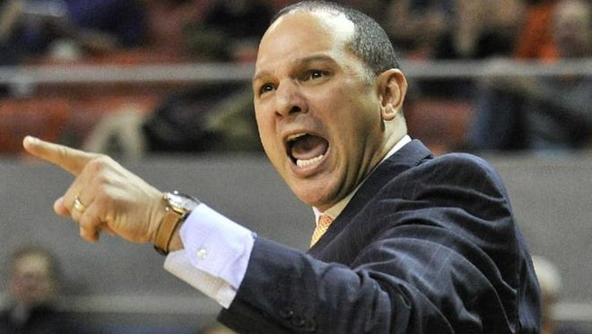 Former Auburn coach/current Kentucky assistant coach Tony Barbee was absent from the Wildcats sidelines for Auburn's 75-70 upset win over No. 14 Kentucky Saturday for what Kentucky team officials said was a recruiting trip. Barbee was fired after going 48-75 in four seasons at Auburn and has been on Kentucky's staff since last season.