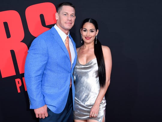 AP PEOPLE-JOHN CENA A ENT USA CA
