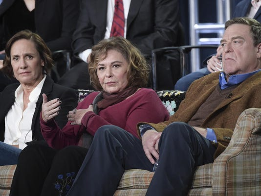 Laurie Metcalf,Roseanne Barr,John Goodman