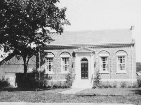 The Lisle Free Library, donated by Herbert H. Franklin.